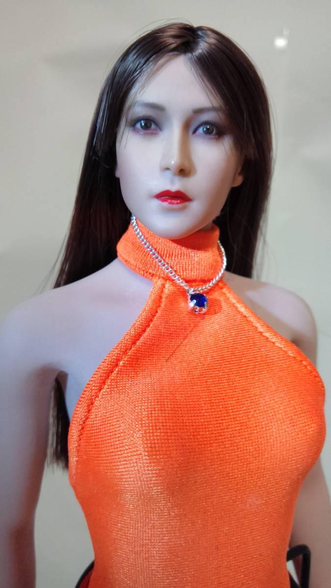 1/6サイズ 女性フィギュア頭部のみ 美品_画像5