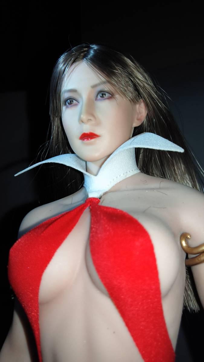 1/6サイズ 女性フィギュア頭部のみ 美品_画像6