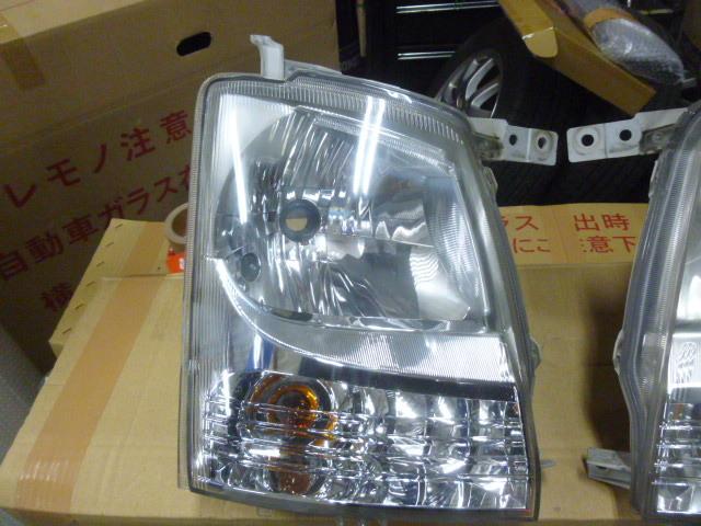 YW MH22S/MH21S/MJ22S/MJ21S ワゴンR AZワゴン パール Z7T K6A 後期 ヘッドライト 運転席 助手席 ライト ヘッド 100-59122 レベライザー_画像3