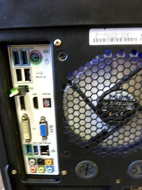 ◆自作PC/Core i5-3470 8GB SSD120GB HDD 2TB BDドライブ GTX960◆_画像3