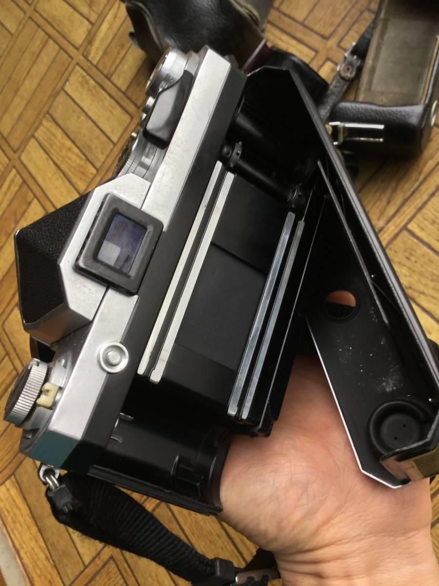 Nikon フィルム一眼レフカメラ NIkon F ニコンF ボディ レンズ5本 他付属品 (ジャンク)_画像3