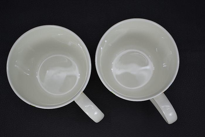 美品!【TIFFANY&CO.】ティファニー 5TH アベニュー マグカップ ペア2個 デザートプレート 2枚セット_画像4