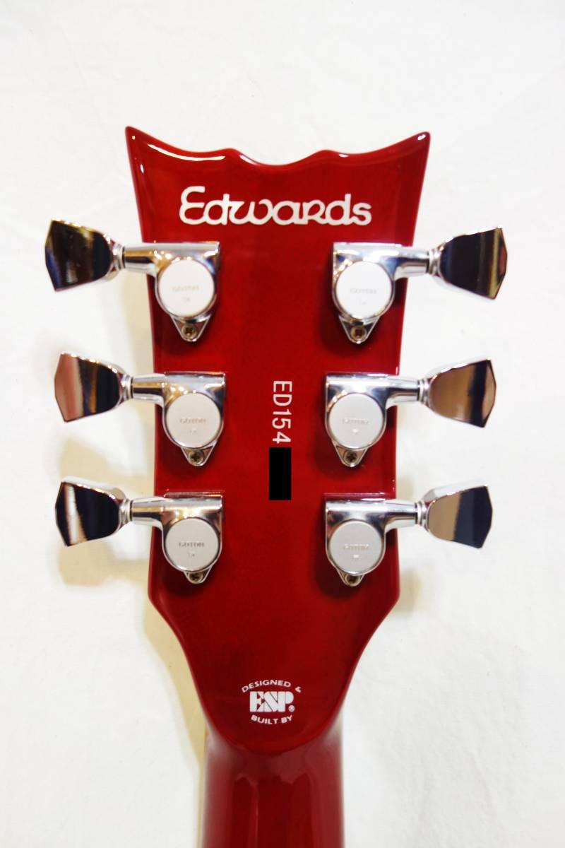 ★Edwards E-RODEO DECADE (Cherry Sunburst) GRANRODEO e-ZUKA Model 美品 L-1806_画像6