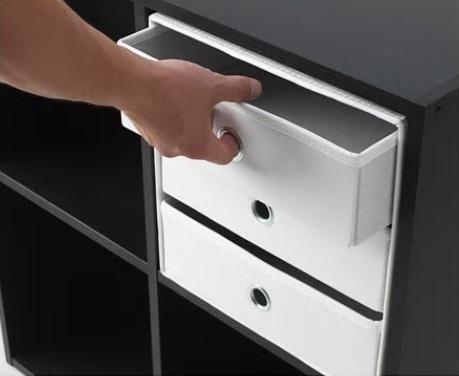 ☆ IKEA イケア ☆ FLARRA ミニチェスト(引き出し×3), ホワイト < サイズ 33x38 cm> u ☆_画像3