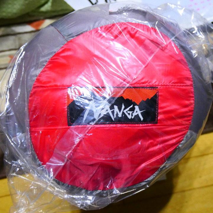 【送料無料】 NANGA(ナンガ)ダウンバッグ1100STD レギュラーサイズ 同等品(ショップ別注) レッド 新品