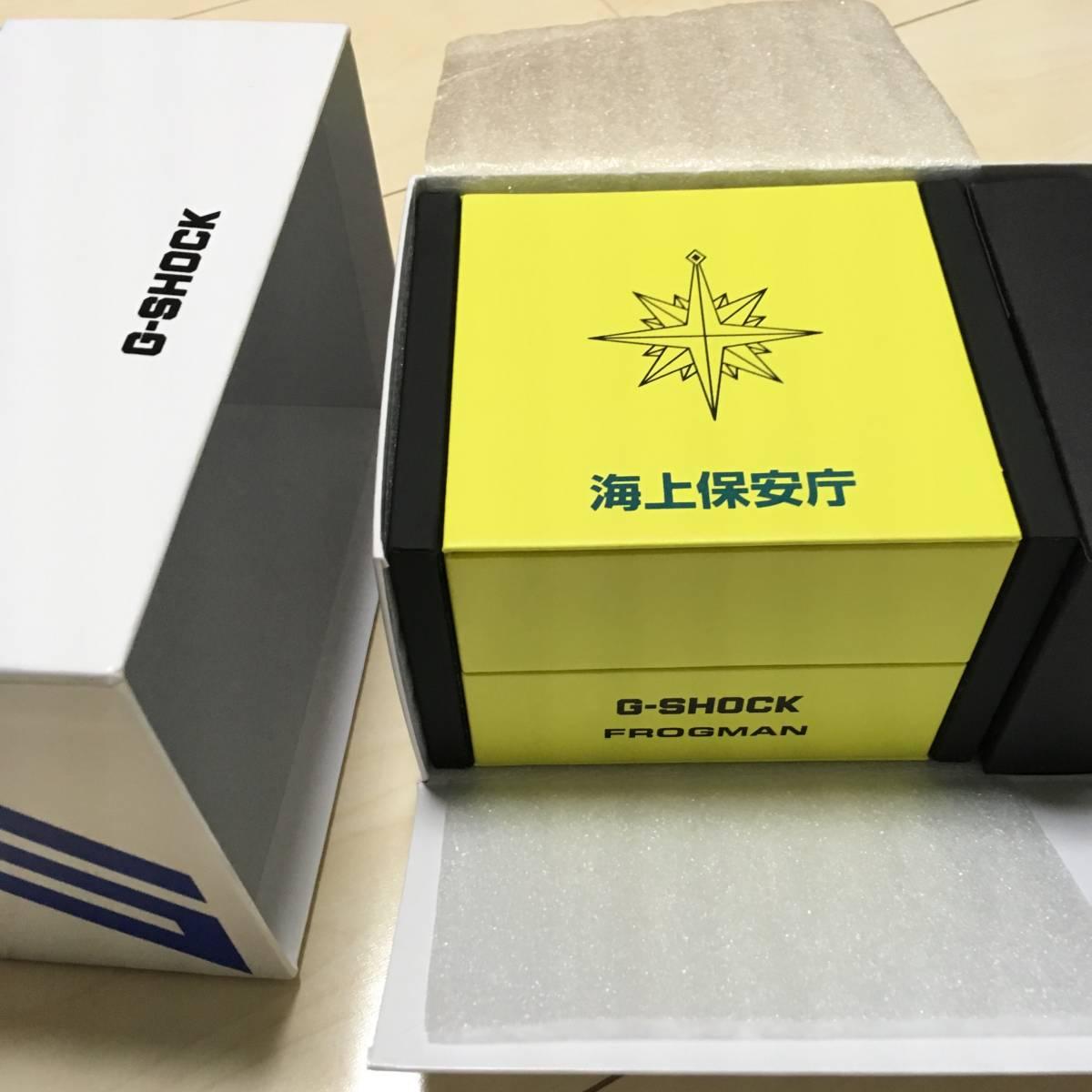 新品☆ 付属品完備 GWF-D1000JCG-9JR 海上保安庁 限定 フロッグマン FROGMAN Gショック 電波時計 ソーラー ジーショック ダイバー コラボ