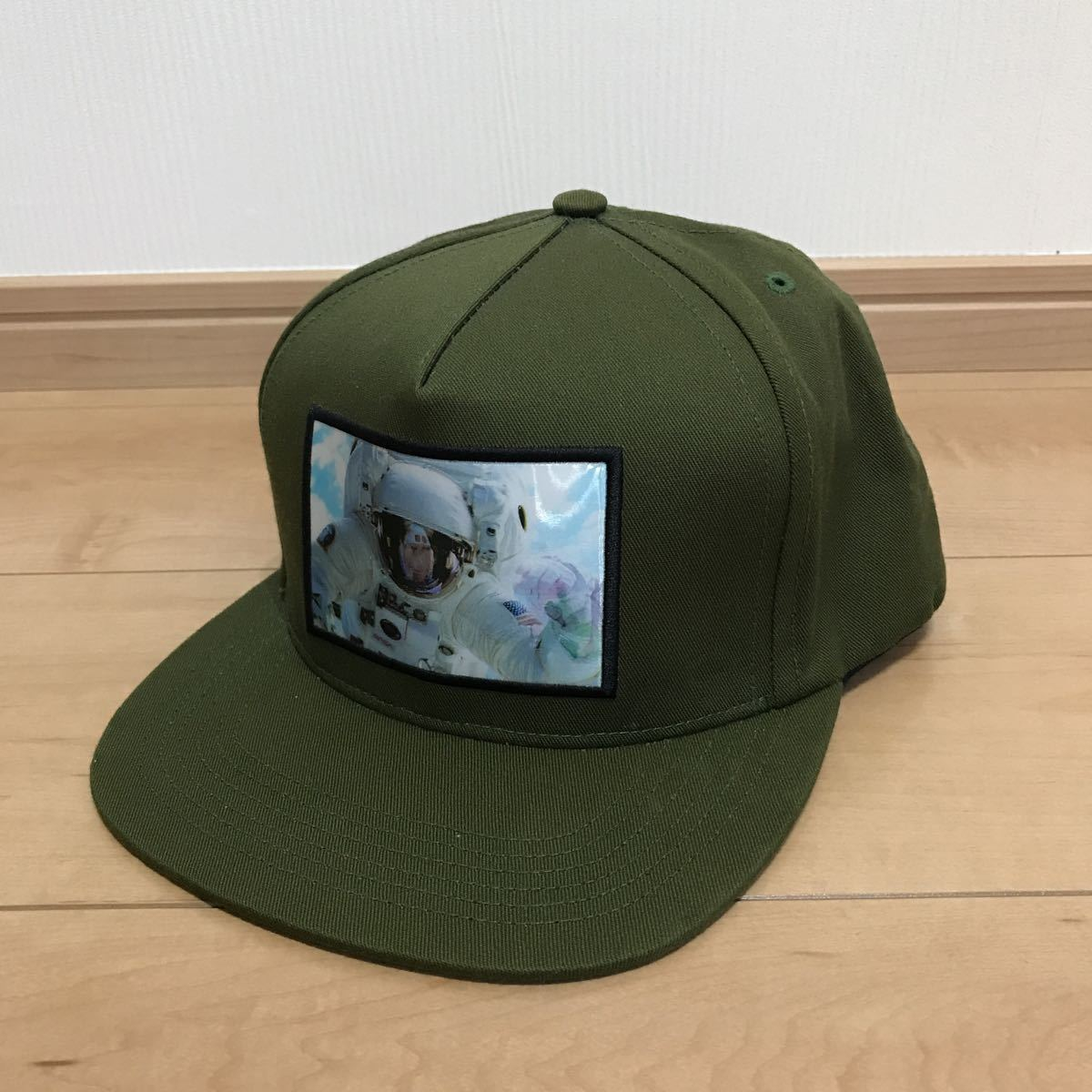 a57fbfc09ce Supreme Astronaut Hologram 5-Panel Cap olive olive 16aw  Real Yahoo ...