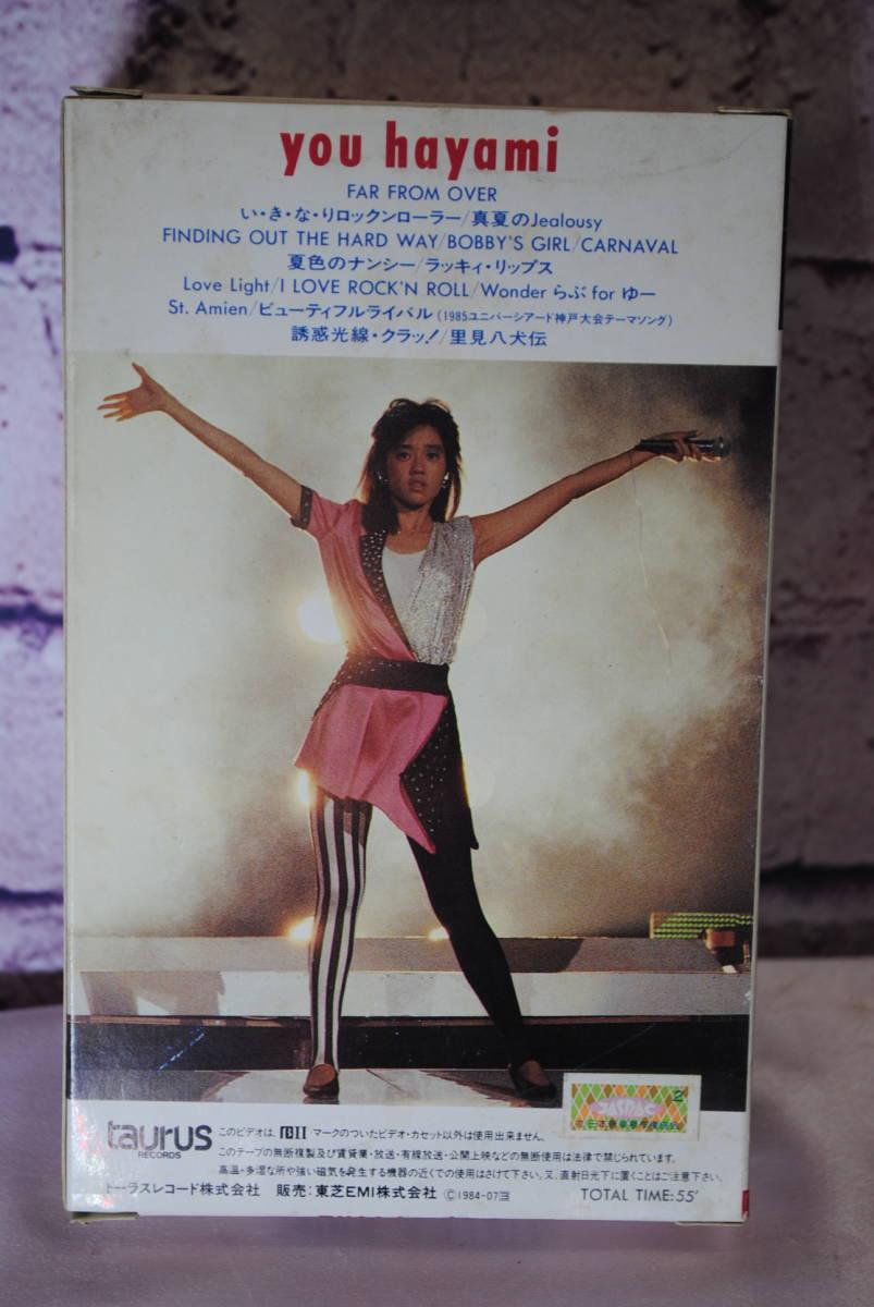 X003.4本セット◇ベータテープ◇河合奈保子 愛のコンサート/早見優 HAPPY SIGN LIVE!1984/プリズナーNo.6/海外ドラマ_画像5