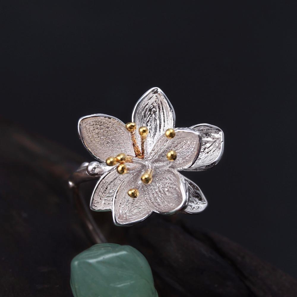 新品 Silver925 シルバーリング 大粒天然石 グリーンカルセドニー ハンドメイド指輪 フリーサイズ ジュエリー 和装小物 女性 レディース_画像3