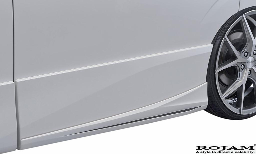 【M's】日産 セレナ C27 (2016/8-) ROJAM IRT エアロ 3点キット LED.Ver (F+S+R)//FRP ロジャム フルエアロ エアロキット LEDデイライト_画像7