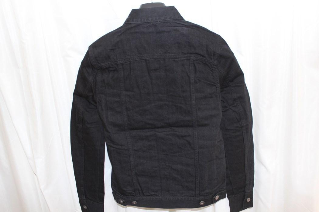 エイチワイエム hym メンズデニムジャケット ブラック サイズ48 日本製 新品 ジージャン_画像5