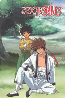 Deadline Rurouni Kenshin telephone card