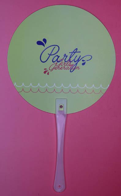 少女時代 ユリ うちわ SM 公式 party_画像3