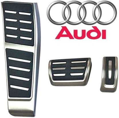 【M's】AUDI A7 A6 4G(2011y-)純正品 S-Tronic用 ペダル&フットレストセット(右ハンドル用)/アウディ Sトロニック ペダルセット 411040_画像2