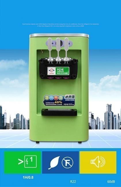 アイスクリームメーカー 業務用 3種類の味 商業用 ソフトアイスクリームマシン 13-16L/h 800W 複数台納入可能 領収書発行可 飲食店法人_画像5