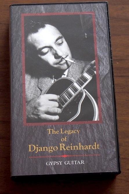 ★【VHS】レガシー ジャンゴ・ラインハルト ジプシー・ギター_画像1