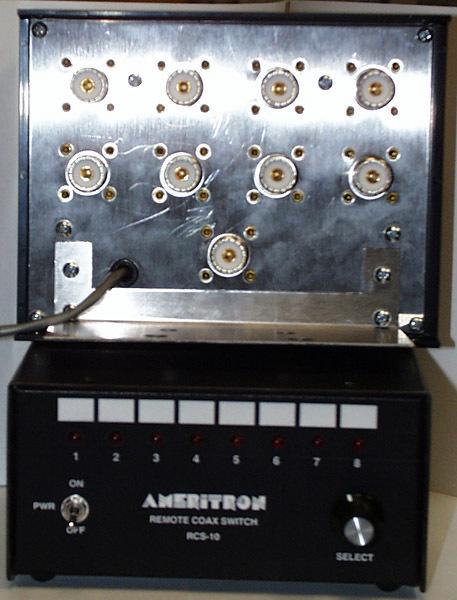 【送料無料・Yahoo認定店】アメリトロンRCS-10L(避雷装置付)リモート アンテナ 同軸 切替器 スイッチ【領収書発行可】_画像1