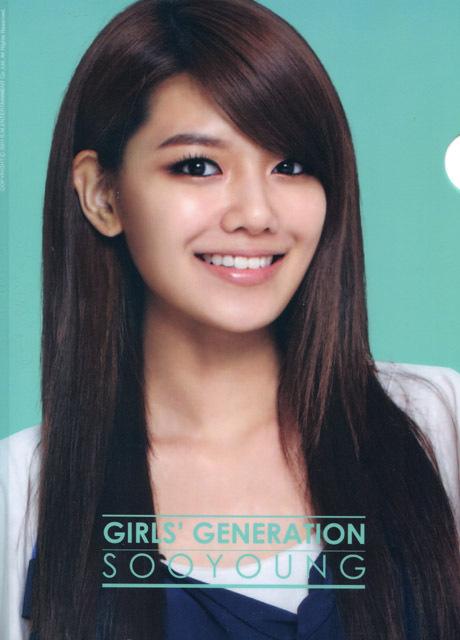 少女時代 スヨン クリアファイル SMエンターテイメント 公式_画像2