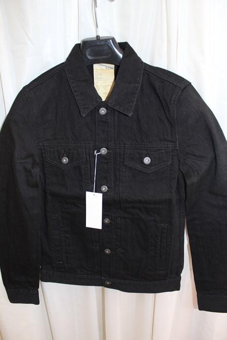 エイチワイエム hym メンズデニムジャケット ブラック サイズ48 日本製 新品 ジージャン_画像2