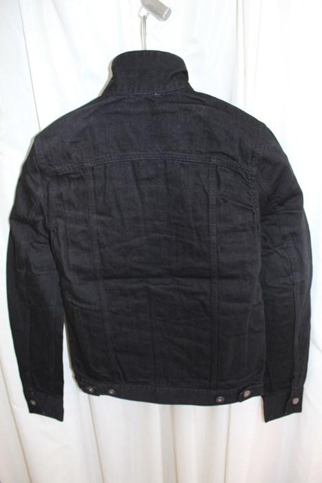 エイチワイエム hym メンズデニムジャケット ブラック サイズ48 日本製 新品 ジージャン_画像6