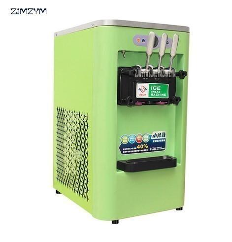 アイスクリームメーカー 業務用 3種類の味 商業用 ソフトアイスクリームマシン 13-16L/h 800W 複数台納入可能 領収書発行可 飲食店法人_画像1
