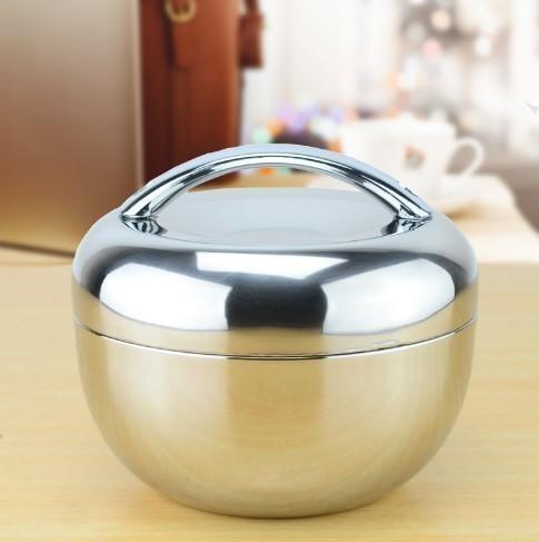 ステンレスランチボックス 保温保冷両用 弁当箱 ランチジャー 1300ml おしゃれインスタ映え 持ち寄りパーティー バーベキュー グランピング_画像2