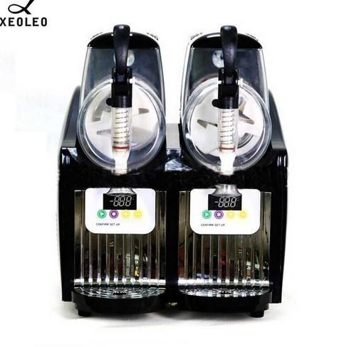 アイスクリームメーカー 業務用 ジェラートマシン シャーベットマシン 商業用 XEOLEOブランド ダブルタンクスラッシュマシン 2.5L 300W_画像2