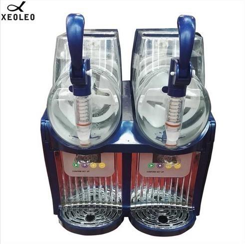 アイスクリームメーカー 業務用 ジェラートマシン シャーベットマシン 商業用 XEOLEOブランド ダブルタンクスラッシュマシン 2.5L 300W_画像4