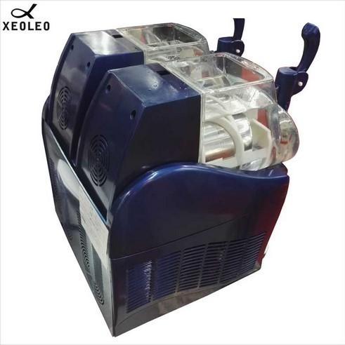 アイスクリームメーカー 業務用 ジェラートマシン シャーベットマシン 商業用 XEOLEOブランド ダブルタンクスラッシュマシン 2.5L 300W_画像3
