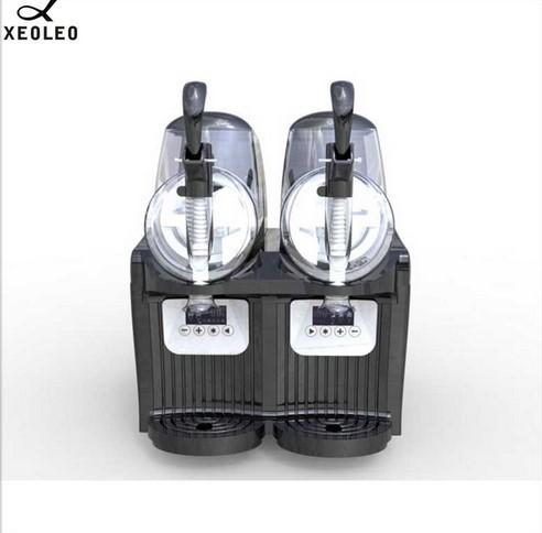 アイスクリームメーカー 業務用 ジェラートマシン シャーベットマシン 商業用 XEOLEOブランド ダブルタンクスラッシュマシン 2.5L 300W_画像6
