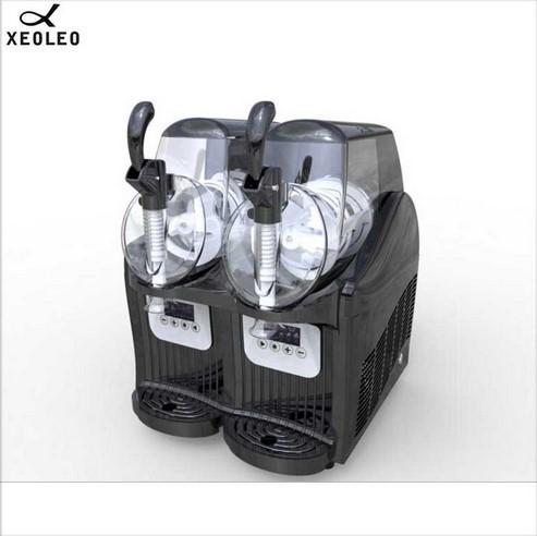 アイスクリームメーカー 業務用 ジェラートマシン シャーベットマシン 商業用 XEOLEOブランド ダブルタンクスラッシュマシン 2.5L 300W_画像5