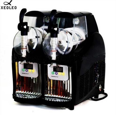 アイスクリームメーカー 業務用 ジェラートマシン シャーベットマシン 商業用 XEOLEOブランド ダブルタンクスラッシュマシン 2.5L 300W_画像1