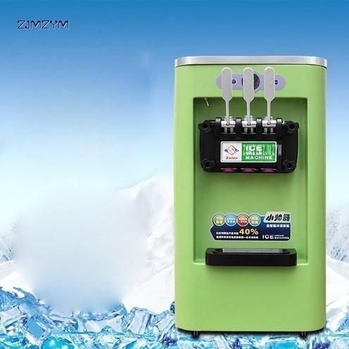 アイスクリームメーカー 業務用 3種類の味 商業用 ソフトアイスクリームマシン 13-16L/h 800W 複数台納入可能 領収書発行可 飲食店法人_画像2