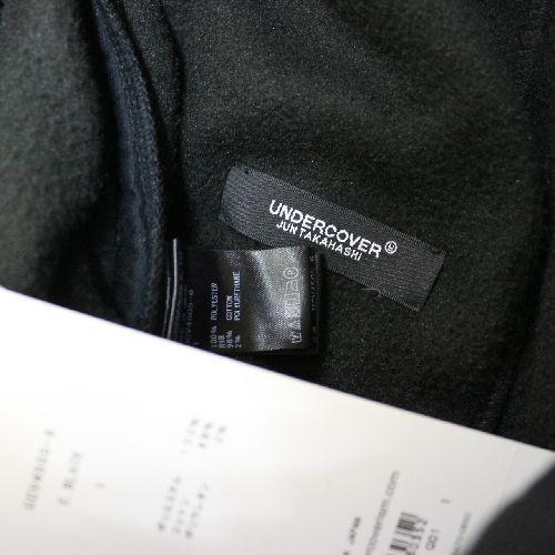 UNDERCOVER アンダーカバー 18AW フリースパンツ HAL9000 1 ブラック_画像4