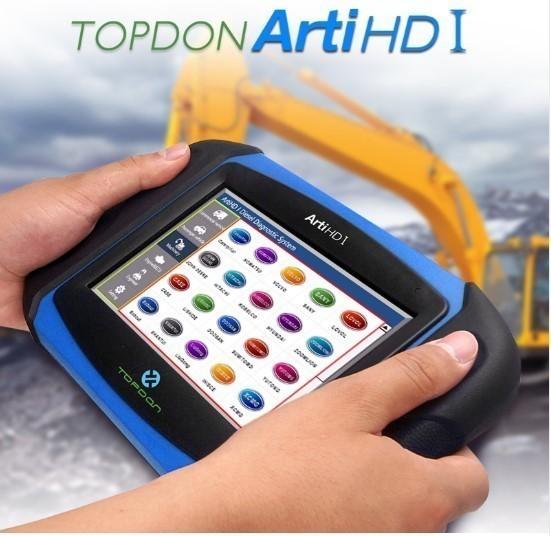 【送料無料】Topdon Arti HD I OBD OBD2 ダイアグスキャンツール トラック バス 乗用車 ECUテスト アナライザー【領収発行可】_画像5