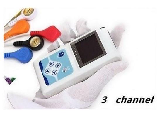 【新品】CONTEC TLC9803 3チャンネル ホルター心電図 モニター ECG / EKG ホルターモニターシステム_画像3
