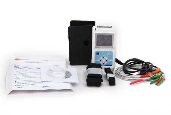 【新品】CONTEC TLC9803 3チャンネル ホルター心電図 モニター ECG / EKG ホルターモニターシステム_画像9