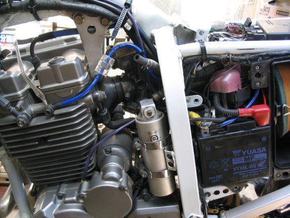 <プロ仕様アーシング革命トルク&燃費向上!モトグッチ「V9 BOBBER・V9 ROAMER・CALIFORNIA 1400 Custom・V7 II Race・V7Special_画像3
