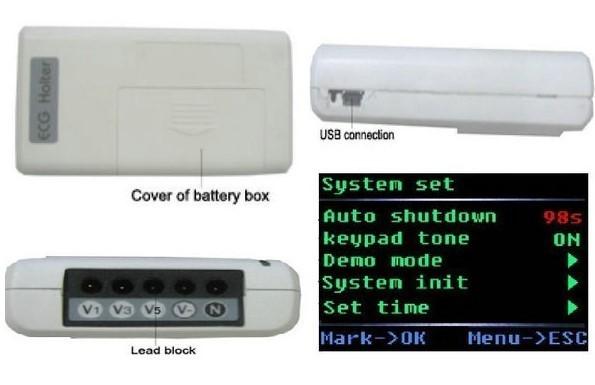 【新品】CONTEC TLC9803 3チャンネル ホルター心電図 モニター ECG / EKG ホルターモニターシステム_画像7