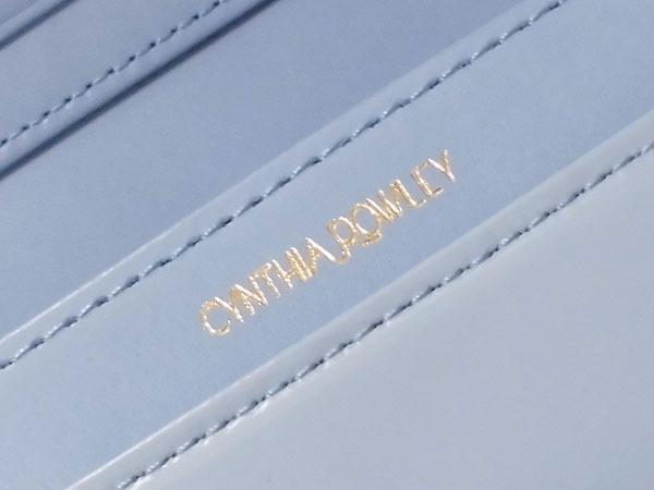 [アウトレット] シンシアローリー 牛革 エナメル 二つ折り財布 ブルー CYNTHIA ROWLEY レディス 箱無し_画像7