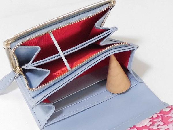 [アウトレット] シンシアローリー 展示品 牛革 二つ折り財布 ブルー CYNTHIA ROWLEY レディス 箱無し_画像7