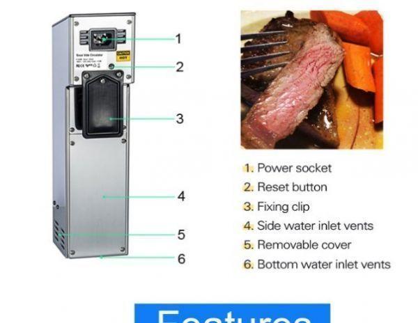 【送料無料・Yahoo認定店】低温真空 クックピュア ゆで機 ステーキ 炊飯器 真空食品加工機【領収書発行可】_画像8