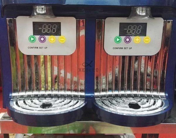 アイスクリームメーカー 業務用 ジェラートマシン シャーベットマシン 商業用 XEOLEOブランド ダブルタンクスラッシュマシン 2.5L 300W_画像7