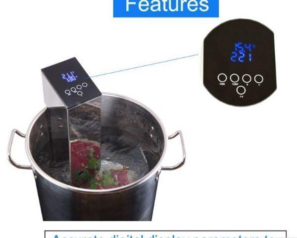 【送料無料・Yahoo認定店】低温真空 クックピュア ゆで機 ステーキ 炊飯器 真空食品加工機【領収書発行可】_画像10
