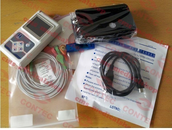 【新品】CONTEC TLC9803 3チャンネル ホルター心電図 モニター ECG / EKG ホルターモニターシステム_画像10