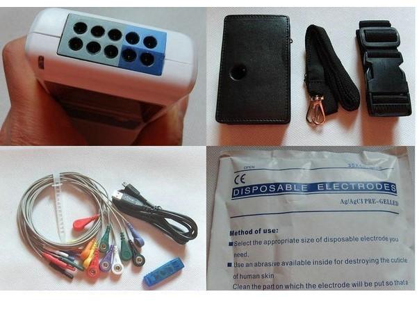【新品】CONTEC TLC9803 3チャンネル ホルター心電図 モニター ECG / EKG ホルターモニターシステム_画像6