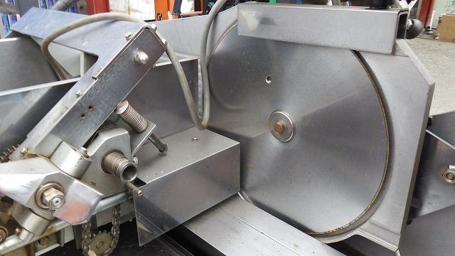 ■日立工機株式会社 ミートスライサー LSM33FH2 三相200V 50/60Hz 業務用 処理能力438kg/時 床置き型スライサーNo2_画像2