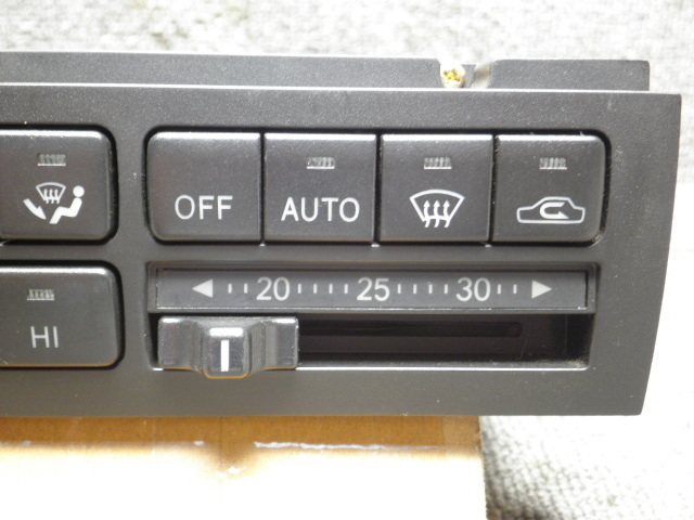 平成6年 JZS141 クラウン エアコンスイッチ 55900-30760  走行35450キロ_画像2