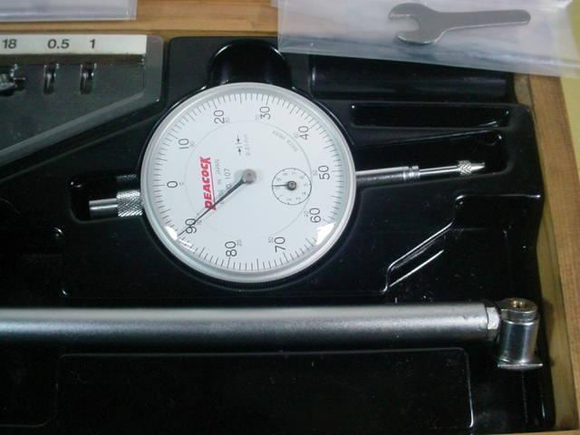 シリンダーゲージ 中古品 ピーコック製 18-35mm ダイヤルゲージ付 R_画像3