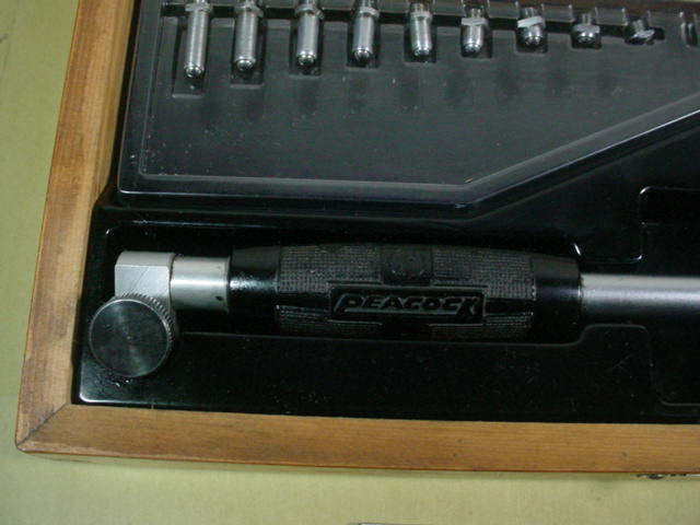 シリンダーゲージ 中古品 ピーコック製 18-35mm ダイヤルゲージ付 R_画像4